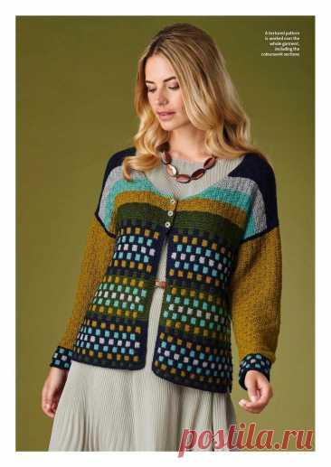 Шикарные осенние модели из журнала The Knitter   Сундучок с подарками   Яндекс Дзен