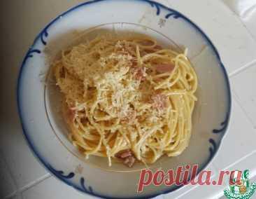 Паста карбонара римская – кулинарный рецепт