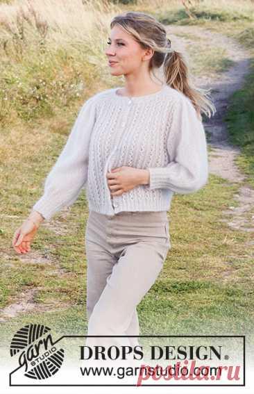 Жакет White Water - блог экспертов интернет-магазина пряжи 5motkov.ru