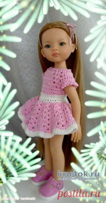 Платье SISSY для куклы Paola Reina. Работа Julia Easy