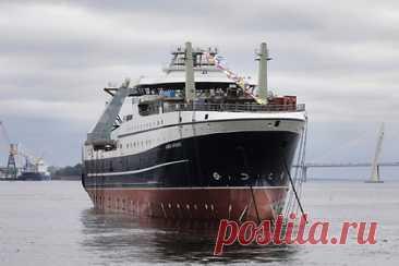 В России спустили на воду супертраулер. В Санкт-Петербурге прошла церемония спуска на воду рыболовного супертраулера «Капитан Мартынов». Корабль стал четвертым судном нового проекта. Преимуществом супертраулера является высокая производительность вылова. Также в судне проекта СТ-192 удалось сократить количество вредных выбросов.