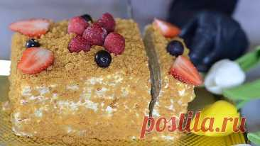 Торт МЕДОВИК за 30 минут