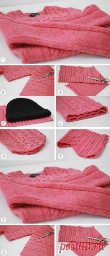 Как переделать старый свитер. Идеи, советы и мастер класс своими руками