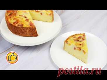 Песочный Пирог со Сметанной Заливкой, Вкусная Замена Торта!