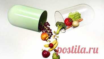 Полная таблица содержания витаминов в повседневных продуктах питания — ДОМАШНИЕ