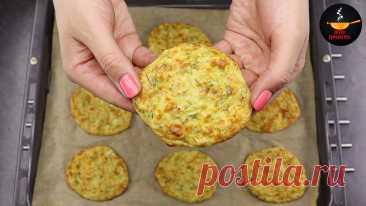 Готовлю капустные оладьи в духовке: обычно делаю двойную порцию (летом капусту заменяю на кабачки) | Евгения Полевская | Это просто | Яндекс Дзен