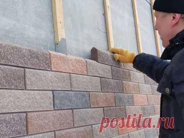Обзор каркасного дома с навесным фасадом из блоков   Рекомендательная система Пульс Mail.ru