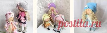 МК Стильные куклы своими руками