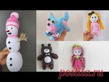 Идеи игрушек из носков