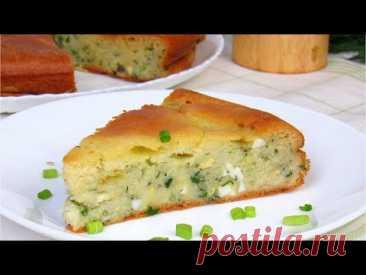 Заливной пирог на кефире с капустой ☆ Капустный пирог ☆ Рецепт Как приготовить пирог с капустой