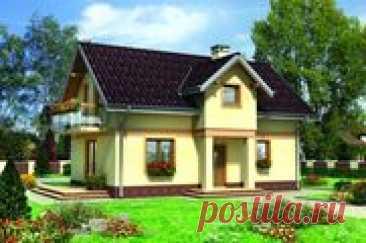 Небольшой загородный коттедж с гармоничным дизайном | DOM4М в России