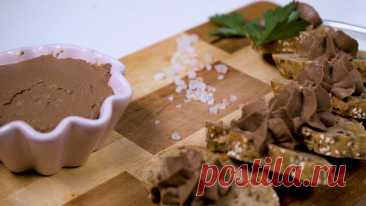 Идея для завтрака. Самый воздушный паштет из куриной печени. Нежный Патэ.