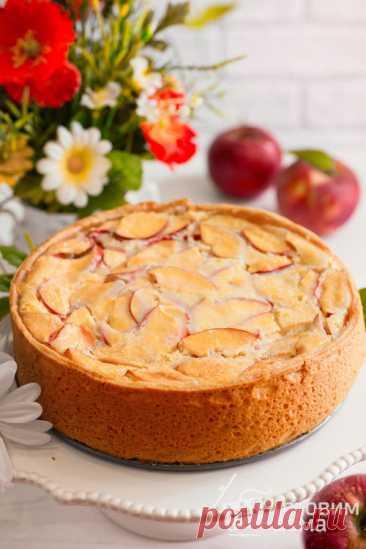 Цветаевский яблочный пирог - пошаговый рецепт с фото на Готовим дома