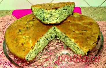 Быстрый капустный пирог с сырой капустой