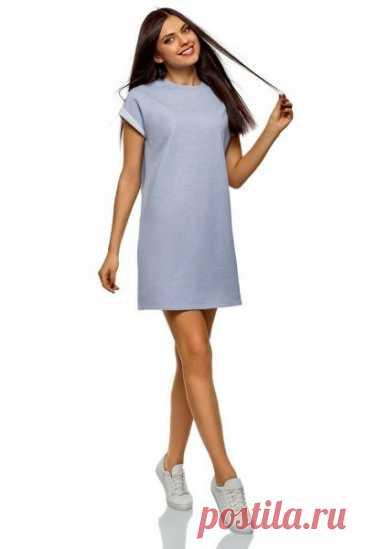 Женское платье  Размеры выкройки: 44-54 российские