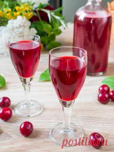Рецепт вишневой наливки на водке 🔥 на Вкусном Блоге