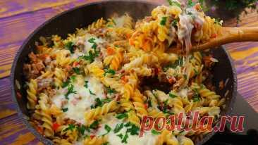 Как жена готовит вкусно макароны на ужин. Делимся рецептом +видео | Семейный канал Тищенко | Яндекс Дзен