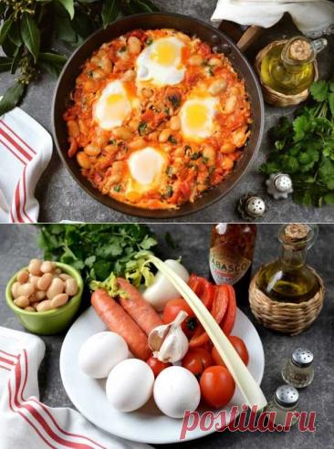 """Мексиканский завтрак """"Уэвос ранчерос""""   Вкусные кулинарные рецепты"""