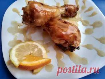 Делюсь рецептом «Цитрусового соуса». На мой взгляд для запекания куриных ножек подходит идеально - Ваши любимые рецепты - медиаплатформа МирТесен
