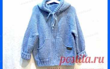 Детская толстовка на молнии, с капюшоном и карманами