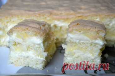 Изумительное пирожное с лимонным курдом и белым шоколадом: