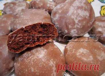 Вкусные шоколадные пряники: рецепт, фото рецепт, пошаговый рецепт с фото