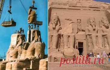 Зачем египтяне поднимали древние храмы на высоту 20-этажного небоскрёба и как они это сделали Скальные храмы Абу-Симбела – зрелище незабываемое. Стены этих древних культовых сооружений от пола до полотка покрывавают иероглифы, повествующие о блестящих победах фараона Рамзеса II, который и пост...