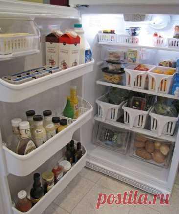 24 гениальных лайфхака для идеально чистого холодильника Чистота в холодильнике — не только залог хорошего настроения каждой хозяйки, это в первую очередь, сохранность и качество продуктов, которые в нем находятся.Используйте эти 24 простых и очень полезны...