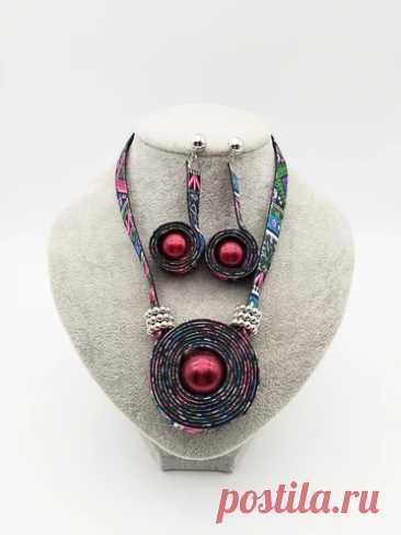 Набор украшений в стиле бохо Dandie, Модный Цветной чокер, ожерелье, серьги, простые женские аксессуары Ювелирные наборы    АлиЭкспресс