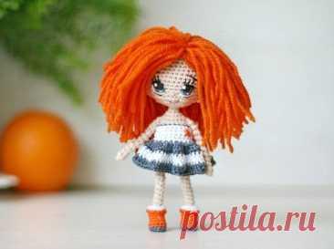 miniature crochet doll miniature doll little doll collectible doll crochet toy amigurumi doll birthd