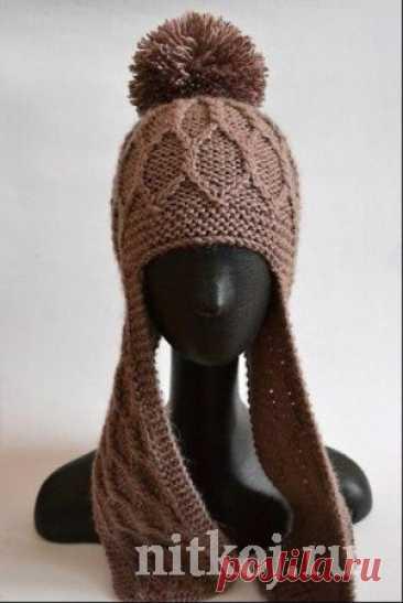 Теплая шапка от Minorcat