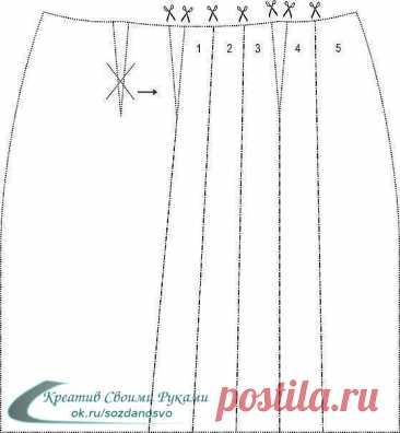 Идея для любителей шитья. Чудесное платье + выкройка.