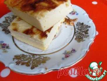 Воздушная творожная запеканка-суфле Кулинарный рецепт