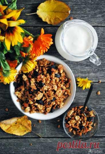 Яблочная гранола со специями - The baking man — LiveJournal
