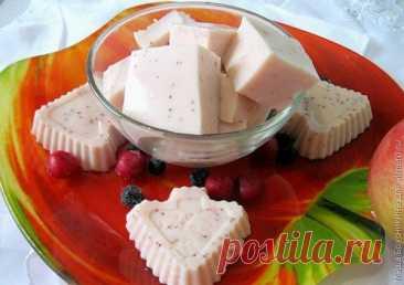 Клубничный зефир из кефира и греческого йогурта