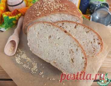 Домашний хлеб с кунжутом – кулинарный рецепт