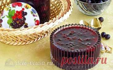 Варенье из кабачков и черной смородины – рецепт с фото