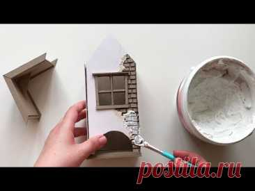 Чайный домик из картона своими руками