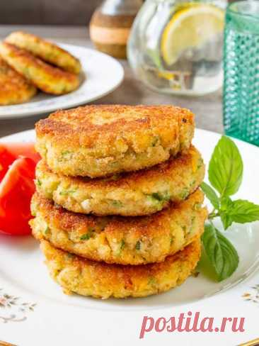 Рецепт кабачковых котлет 🔥 на Вкусном Блоге