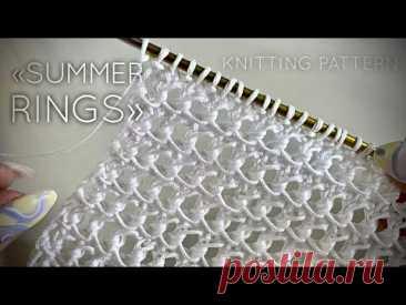 СУПЕР узор для вязания маек, топов, жилетов, джемперов и кардиганов. Очень красивый и простой.