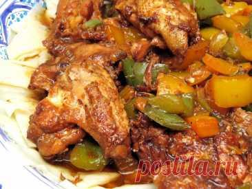 Самое популярное блюдо уйгурской кухни в Китае – дапанджи с курицей: мои впечатления и рецепт | Соло-путешествия | Яндекс Дзен