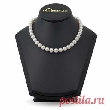 8.700 р-Ожерелье из жемчуга белого цвета