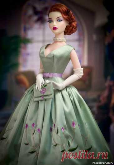 Одежда в стиле ретро для кукол   Интересные идеи для вдохновения