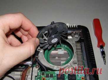 Гудит вентилятор в ноутбуке, что делать