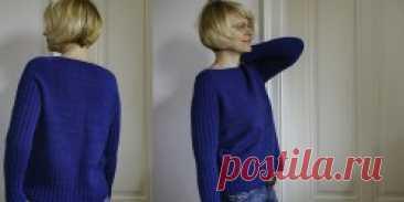 Пуловер без швов спицами Midwinter  - Вяжи.ру