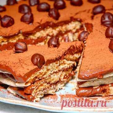 Рецепт «Киевского» торта от Юлии Высоцкой