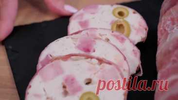 #Чудо-#колбаса, в магазине такую не купите! Все просто и без приспособлений!!!