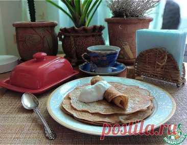 Блины гречневые – кулинарный рецепт