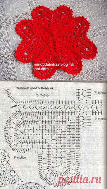 Салфетки с сердечками со схемами для вдохновения (15 вариантов) | 38 рукоделок | Яндекс Дзен