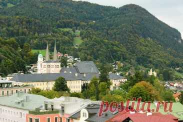 Немецкий город Берхтесгаден (Berchtesgaden)